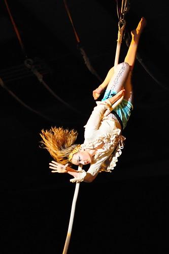 Marieke on Rope
