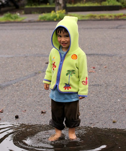 Luca in the Puddle