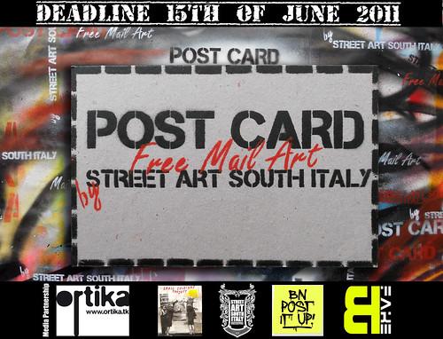 .:POSTCARD:.@.:Free Mail Art:. by STENCILNOIRE