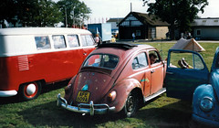 VW Action '88 (Lawrence Peregrine-Trousers) Tags: california old school 2 3 look vw 35mm bug volkswagen 1 scans rat action beetle skool cal 80s type shows jam 88 87 ghia 89 karmann 609 volksfest stoneleigh afe ffffffffff b289 afe609a