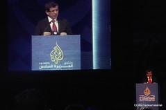 Professor Ahmet Davutolu (medea_material) Tags: aljazeera doha qatar catar ajforum