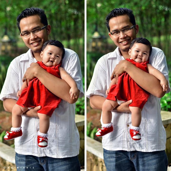 KA with dad