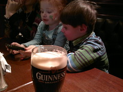Angry Birds over Guinness