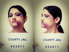 the hangover (arrowlili) Tags: hangover jail mugshot bruise arrested splitlip tamron2875mm canon50d odc2 ourdailychallange
