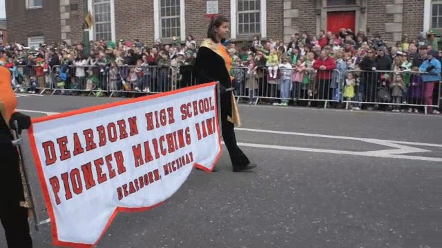 The Dearborn High School Marching Band