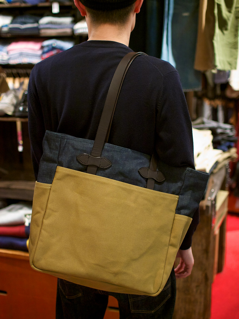 Filson x Levi's / Rugged Twill & Denim Tote Bag