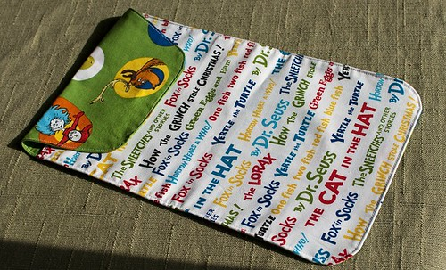 Diaper and wipes holder front