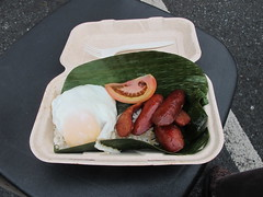 Longsilog from the WOW Silog Truck at Off the ...