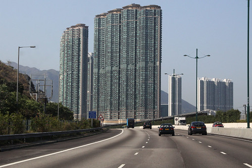 'Caribbean Coast' apartment  complex at Tung Chung