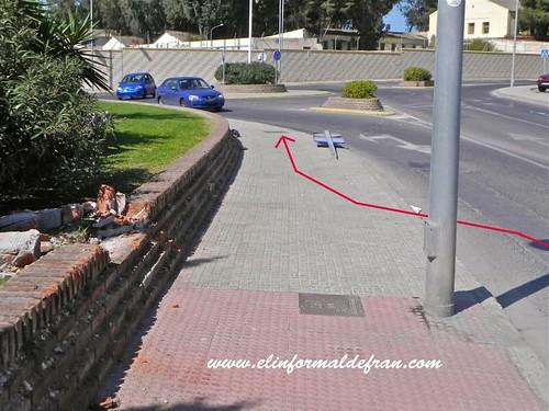 Accidente en la Carretera Alfonso Xiii