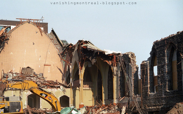 Trinity Anglican Church - demolition