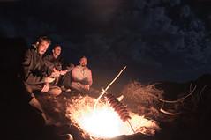 churrasco no acampamento nas dunas de valizas (Raul Garré) Tags: praia beach nature trekking uruguay la cabo natureza bonfire barbecue caminhada aguas churrasco pedrera fogueira dulces uruguai polonio valizas