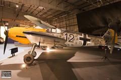 DG200 - 4101 - RAF Museum - Messerschmitt Bf-109E-3B - 080203 - Hendon - Steven Gray - IMG_7353