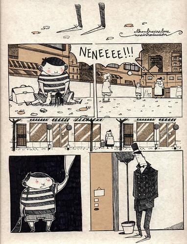 el hombre sin alma, el cómic. 2011