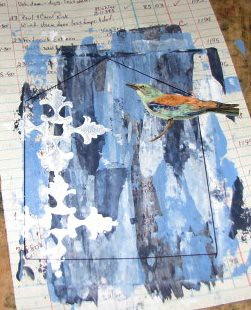 Mom Gothic Arch - #4 - Paint Scrapings 014