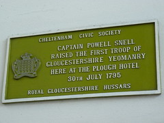Photo of Powell Snell green plaque
