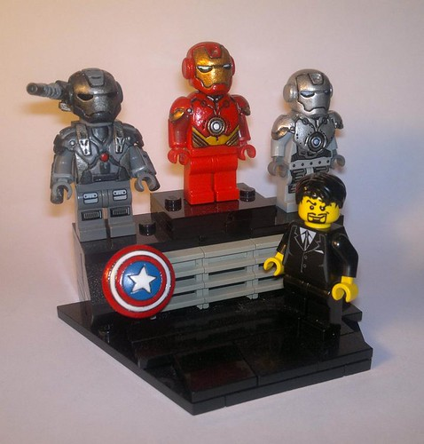 Custom minifig My Own STARK Expo