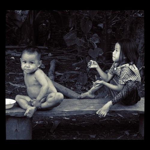 The children of Laos