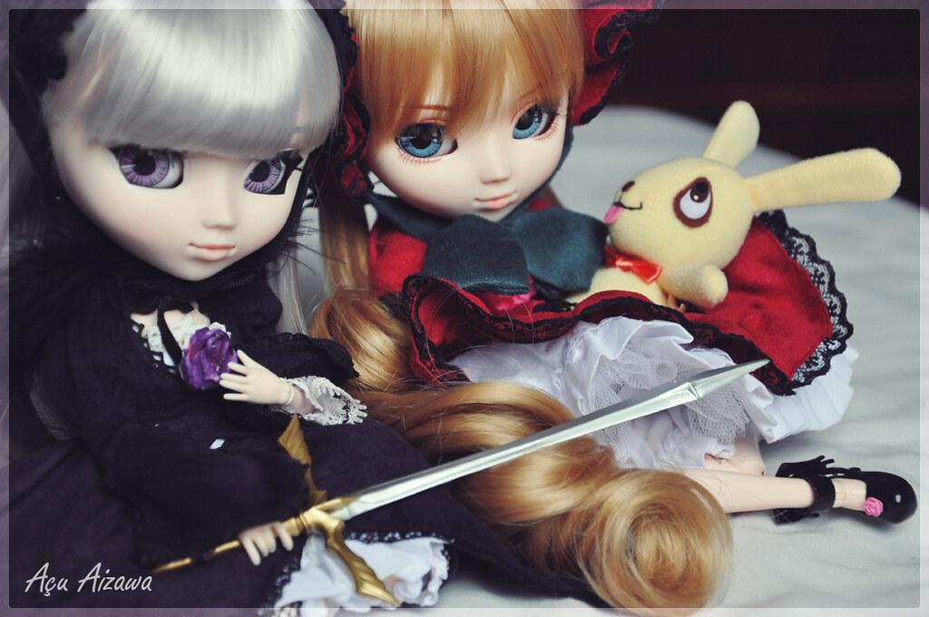 My first dolls - Tagged!