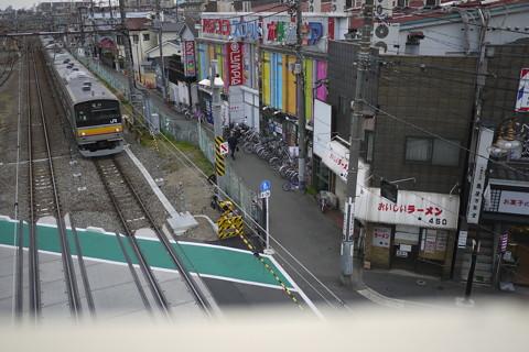 南武線矢向駅周辺