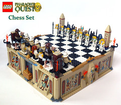 PQ Chess (Oky - Space Ranger) Tags: set army temple treasure jake lego board tomb egypt chess battle ostrich obelisk pharaoh sarcophagus undead minifig mummy quest anubis raines adventurers skelleton
