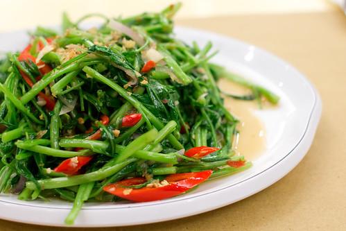 Stir-fry Belachan Tung Choi