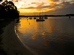 noosaville sunset