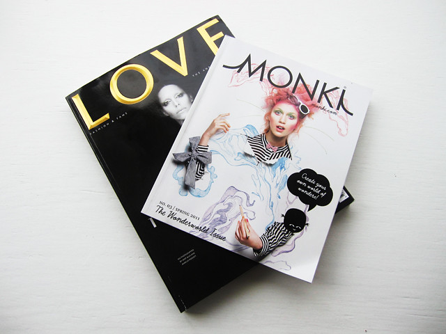 love and monki magazines