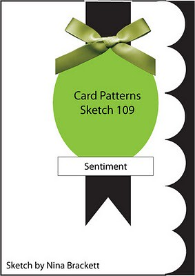 Card Patterns Sketch 109