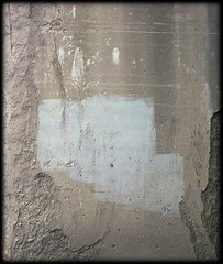 supprt1.2 (swindlehorne) Tags: bridge urban white stain concrete grey support paint under gray cement chips marks cover weathered column minimalism flakes chipped scrapes coverup deteriorate flaked coveredup paintover