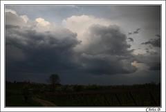 **Sky of thunderstorm **