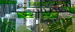 Tables, chairs & stool (najinsk) Tags: green reflections lights chairs tables wasabi onenewchange