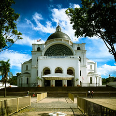 The cathedral in Caacupé