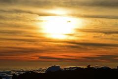 Teneriffa - Teide 8 (akumaohz) Tags: blue schnee red sky cloud mountain holiday snow rot berg sonnenuntergang dusk painted urlaub himmel wolke tenerife vulcan blau teide teneriffa vulcano vulkan gemalt