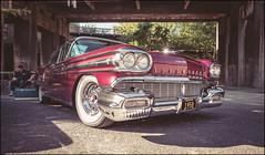 Super 88 (AR`73) Tags: oldsmobile super 88 us car 1958 altmetall lapadu fuji xt1 fujinon 14mm