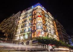 Hotel Albert Premier, Alger (zedamnabil) Tags: hotel night lights alger algiers algeria algerie tourism voyage travel architecture city longexposure albert premier wideangle canon7d sigma1020mm zedamnabil dzflickrs