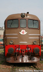 D342.4010 FS (Massimo Minervini) Tags: d342 d3424010 parcostorico fs milanosmistamento porteaperte ansaldo mostra diesel locomotorediesel castanoisabella rail treno canon400d milano