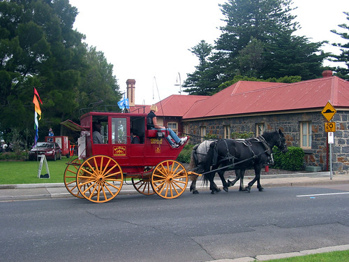 Horse Carriage  Altona Homestead