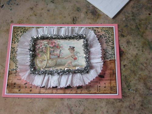 Vintage Valentine #3 - Valentine Plaque Card 011