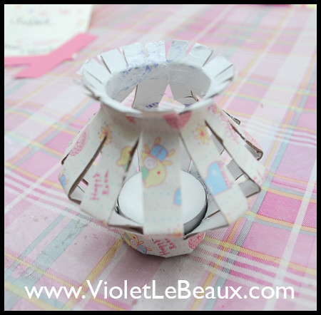 Toilet Roll Lantern Tutorial