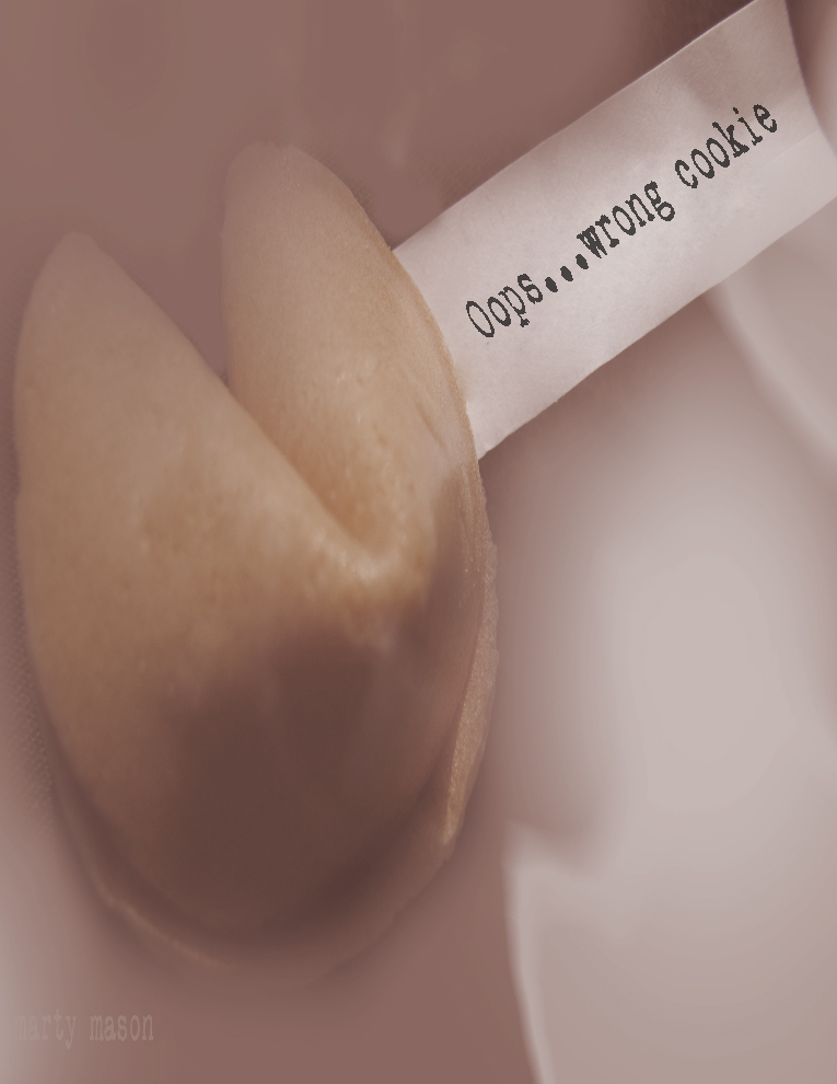 Fortune Cookie Note Card