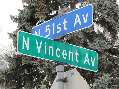 N Vincent Ave at N 51st Ave