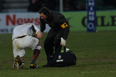 England Saxons defending as Italy A attack. (Stanthefan) Tags: england grass rain sport vertical horizontal shirt team mud boots action rugby stadium attack international pitch worcestershire twopeople penalty oneperson worcester defend gbr italya threepeople saxons fieldofplay
