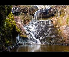 Nant Ffrwd Landscape View (Vale Boy) Tags: southwales wales canon river waterfall slowshutter merthyrtydfil polarizer 500d valeboy nantffrwd