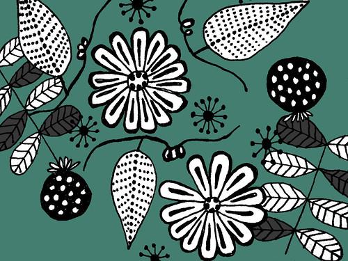 blommit print