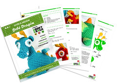 ★ Bebé Dragón (★kraftcroch★) Tags: baby color lana wool toy diy soft pattern dragon handmade crochet craft bebé amigurumi patron juguete artesania snapdragon croche ganchillo