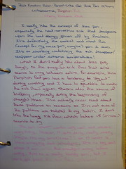 Frixion Color Pencil Like Writing Sample 1