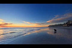 beach photographer (Eric 5D Mark III) Tags: ocean california sunset shadow sky people usa cloud seascape color reflection beach canon landscape twilight photographer unitedstates wave wideangle orangecounty sanclemente tone ef14mmf28liiusm eos5dmarkii