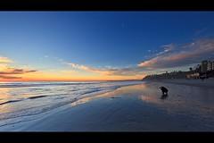 beach photographer (Eric 5D Mark III) Tags: ocean california sunset shadow sky people usa cloud seascape color reflection beach canon landscape twilight photographer unitedstates wave wideangle orangecounty sanclemente tone ef14mmf28liiusm eos5dmarkii