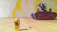 Test drive (Marshal Banana) Tags: lego sandcrawler